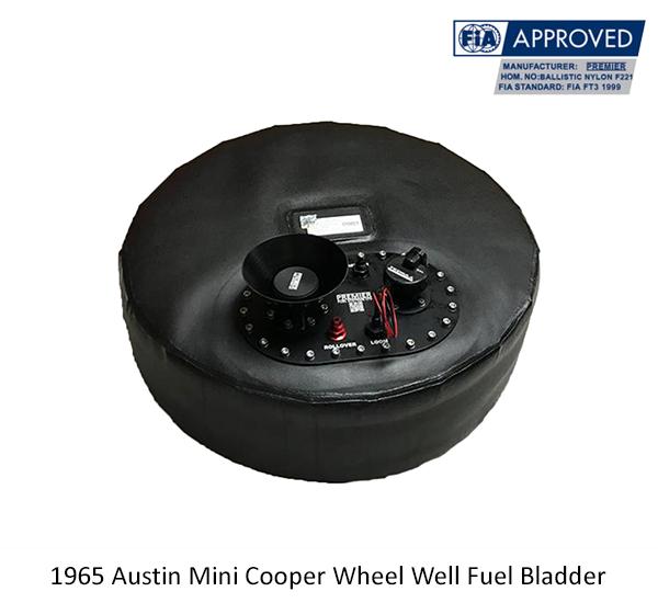 1965 Austin Mini Cooper Wheel Well Fuel Bladder