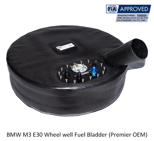 BMW M3 E30 Wheel well Fuel Bladder (Premier OEM)
