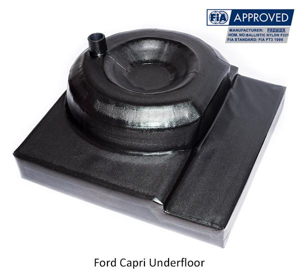 Ford Capri Underfloor