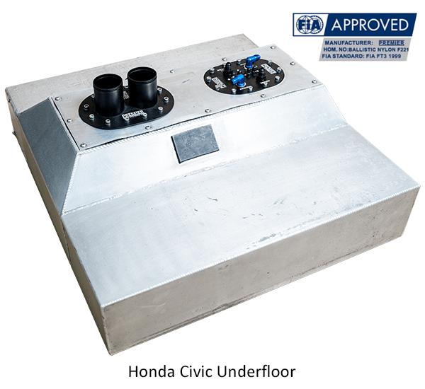 Honda Civic Underfloor