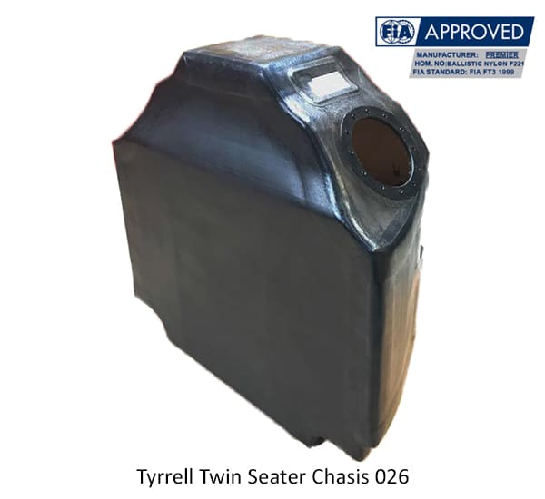 Tyrrell Twin Seated Chassis 026